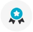 자원봉사활동 인증서 발급 아이콘